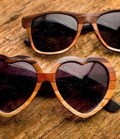 Wood Veneer Sunglasses.