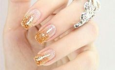 Gloden nail beauty