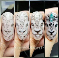 Nail Art Designs Videos, Nail Designs, Minion Nails, Owl Nails, Mickey Nails, Fancy Nail Art, Nail Drawing, Animal Nail Art, Nail Art Techniques