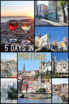 5 Days in Portugal: Lisbon, Sintra and Porto Read More: http://mismatchedpassports.com/2016/01/17/5-days-in-portugal-lisbon-sintra-porto/