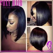 Image result for asymmetrical bob black hair