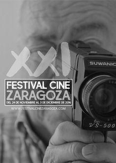 """Cartel Accesit FCZ de la 21ª edición año 2016.  El Festival de Cine de Zaragoza ya tiene ganador del premio del público de nuestro concurso de carteles de este año. La semana pasada se cerró el plazo y de los 94 trabajos presentados, """"EN TU MEMORIA"""" del Zaragozano Alejandro Murillo ha sido el elegido con 141 votos por el público a través de la página de Facebook oficial del Festival."""