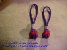 TYPE 1 - 2 PASS PINEAPPLE KNOT (from a 5x4 turk's head knot) --by-- http://pineappleknotstutorials.over-blog.org/