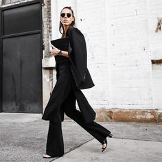 All black on the run. ✔️ Shop the look from your inbox via www.liketk.it/1jWPx @liketoknow.it #ootd #modernlegacy #liketkit #allblack