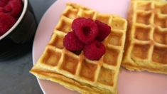 Keto Waffles Recipe - Easy Low Carb Waffle Breakfast With Coconut Flour - the best fluffly ketogenic diet friendly waffles. Keto Waffle, Waffle Toppings, Easy Waffle Recipe, Waffle Recipes, Coconut Recipes, Low Carb Recipes, Breakfast Waffles, Breakfast Recipes, Pancakes