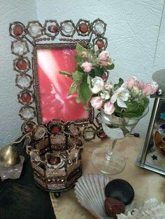 Das naturmagische Jahreskreisfest Beltane am 1.Mai 2015 - dekorierter Liebesaltar
