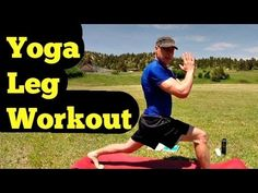 Sean Vigue Fitness: 10 Min Athletic Yoga Lunge Leg & Butt Workout (+Laura London Book)