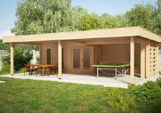 Wohnideen Gartenhaus das ideale ferienhaus mit großzügiger überdachter terrasse