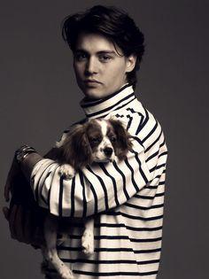 jonny depp and dog