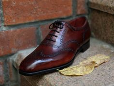 Inverness wingtip by Edward Green. Classy