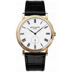 Patek Philippe Gents 18ct Yellow Gold Patek Philippe Calatrava Watch