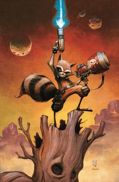 Skottie Young Promises ROCKET RACCOON Series Will Be Weird Fun | Newsarama.com