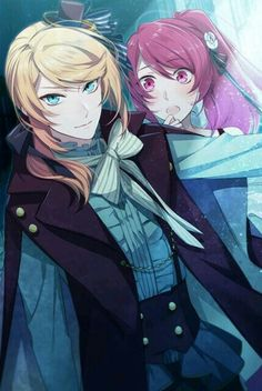 Shall we date? Blood in roses+ - Cecil / Main story, Day 3 Anime Love Story, A Moment To Remember, My Guardian Angel, Fantasy Pictures, Games Images, Shall We Date, Diabolik Lovers, Live Action, Anime Couples