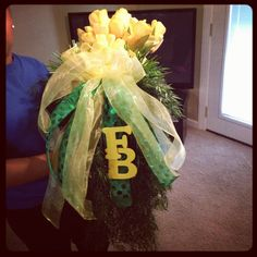 A flower swag bouquet I made. -Tamra #lovemystyleboutique