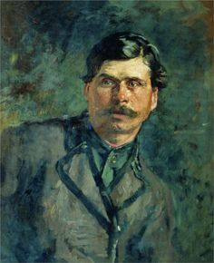 A soldier  Ilya Repin