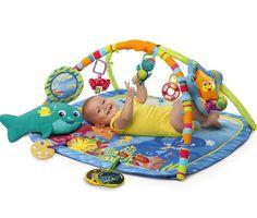 Baby Play Gym Mat Activity Toy Floor Crawl Foam Soft Eductaional Nautical Friend #BabyEinstein