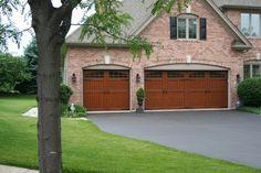 010 Eden Coast Leatherwood Opt J Gl W 3 Carriage House Garage Doors Florida