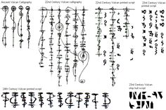 Evolution of Vulcan Language