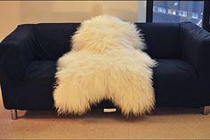 Biggest   Soft and Silky   Icelandic Sheepskin Rug   (Large 120-130 cm): Amazon.co.uk: Kitchen & Home