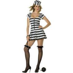 Sexy Prisoner Of Love Costume - Prisoner Costumes