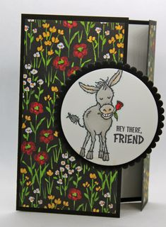 Hand Made Greeting Cards, Making Greeting Cards, Greeting Cards Handmade, Cards For Friends, Friend Cards, Scrapbook Cards, Scrapbooking, Fun Fold Cards, Wood Stamp