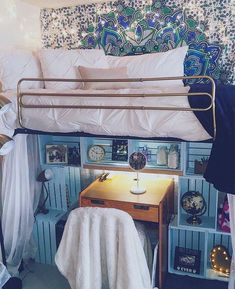 Teenage Girl Bedroom Ideas for a teenage girl or .. - CLICK PIN for Various Bedroom Decor Pics. #bedroomideas #bedding