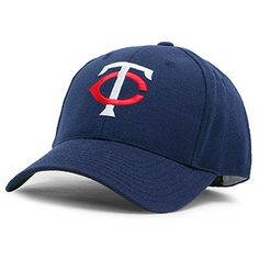 Minnesota Twins Navy Blue 1968-91 Throwback Cooperstown Fitted Hat - $34.99