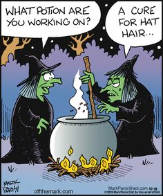 What potion? | Off the Mark (2015-10-16) via GoComics