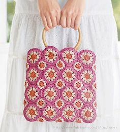 Flower Crochet Bag!