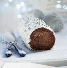 triti-25-12-kormos-xristougenniatikos Greek Sweets, Greek Desserts, Christmas Sweets, Christmas Cooking, Christmas Recipes, Cake Roll Recipes, Happy Foods, Something Sweet, Food Processor Recipes