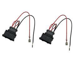 dkmus 2 x pairs speaker wiring harness wire cable vw passat seat dkmus 1 x pair speaker wiring harness wire cable vw passat seat golf polo speakers adapter