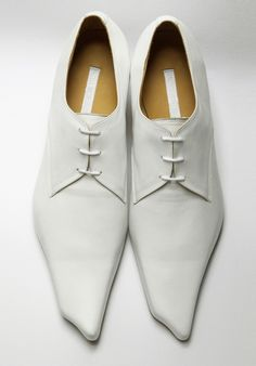 Koji Horigome shoes. Pointy shoes are so 5 years ago.
