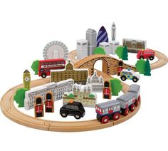 Buy Tidlo The City of London at Argos.co.uk, visit Argos.co.uk to shop online for Toy trains, Toy cars, trains, boats and planes, Toys