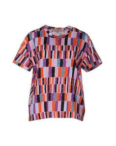 EMILIO PUCCI T-Shirt. #emiliopucci #cloth #dress #top #skirt #pant #coat #jacket #jecket #beachwear #