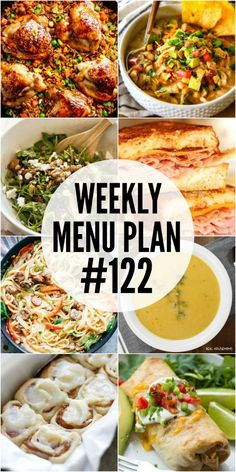 Chilly Fall evenings need delicious menu plan recipes that will warm you up and comfort your soul! #Weeklymealplan #Realhousemoms #Falldinner