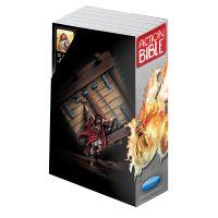 Képregény Biblia - 12 rész díszdobozban Action Bible, Cards, Bible, Maps, Playing Cards