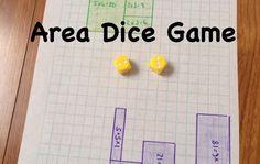 Buen juego para horas de práctica de matemáticas. Probado con chicos de 7° y 8°. Conviene conseguir dados de 10 ó 12 caras para practicar todas las tablas de multiplicar y obtener áreas más variadas.