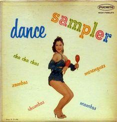 Various artists - Dance Sampler (Puchito Records; 1957) #albums #records #vinyl #LP