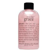 philosophy amazing grace - my favorite