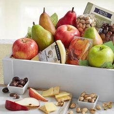 Gourmet Fruit Gift Box by The Gift Basket Pros and more gifts at discounted prices. Salt Crackers, Fruit Gifts, Cheese Snacks, Get Well Soon Gifts, Gourmet Gift Baskets, Sweet And Salty, Golden State, Fresh Fruit, Crates