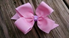 Discounted hair bow/hair bow sale/Pink hair by BusyBellaBoutique