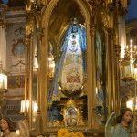 La procesión de la Virgen del Valle vía satélite hacia todo el país