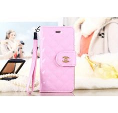 Where to Buy Real Outlet Factory Luxury Chanel iPhone 6 / 6 Plus Leather Wallet Cases - Women's Fashion - Light Pink - iPhone 6 case / iPhone Air Case Arrive Soon - Chanel & Louis Vuitton Factory Outlet Authentic Online Store