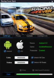 DOWNLOAD: http://cheats-game.info/racing-fever-hack-androidios/