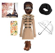 """""""#Efterår"""" by maria-matilde-ibsen on Polyvore featuring beauty, Burberry, Fay et Fille, 16 Braunton, H&M and Kate Spade"""