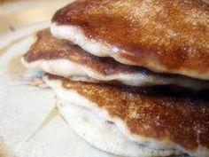 Vegan Cinnamon Coconut Pancakes  vegan, plantbased, earth balance, made just right