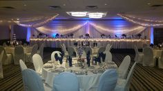 October wedding at the Embassy Suites by Hilton Bloomington!  Newly renovated ballroom.