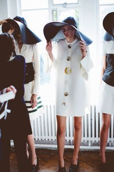 J.W.Anderson Spring 2015 RTW – Backstage – Vogue