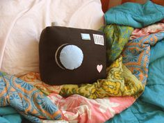 Wanna make for my room :) Camera pillow