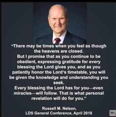 Trials personal revelation Russell m nelson Prophet Quotes, Jesus Christ Quotes, Gospel Quotes, Lds Quotes, Uplifting Quotes, Religious Quotes, Inspirational Quotes, Lds Memes, Mormon Quotes